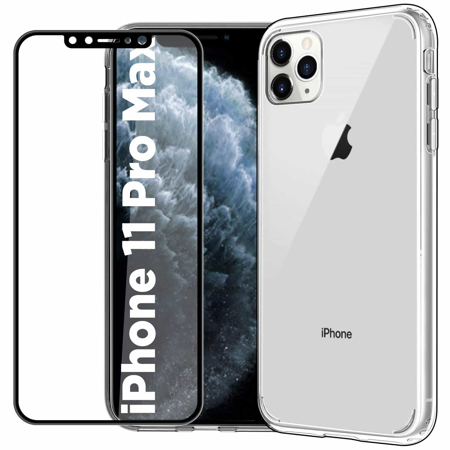 _EasyAcc Clear Case for iPhone 11 Pro Max-min