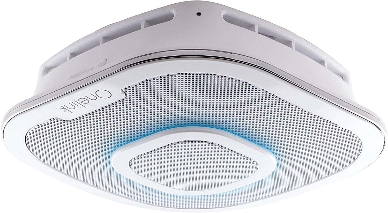 Alexa Enabled Smoke Detector and Carbon Monoxide Detector Alarm with Premium Home Speaker-min