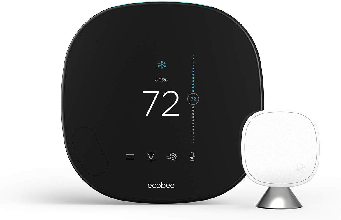 ecobee SmartThermostat with Voice Control-min